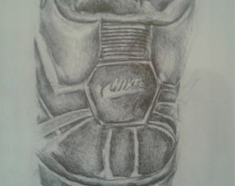 Back of Nike Shoe