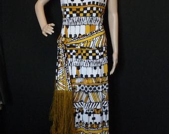 TRICOSAT - jersey - size 38 long dress