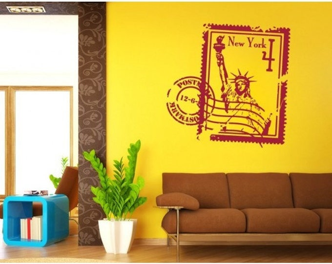 World & Skyline Decals - Style and Apply Wall Decals