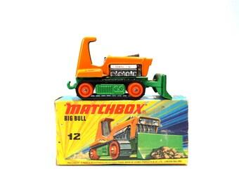 Matchbox No. 12 Big Bull Bulldozer Includes Original Box