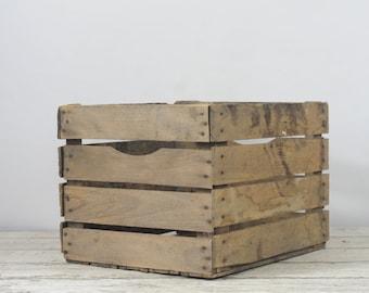 Vintage Fruit Crate Large Wood Vintage Fruit Box Potato Crate Box 3