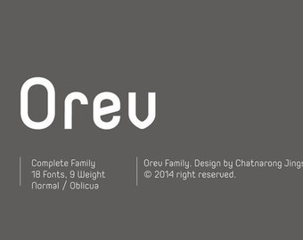 Orev Font