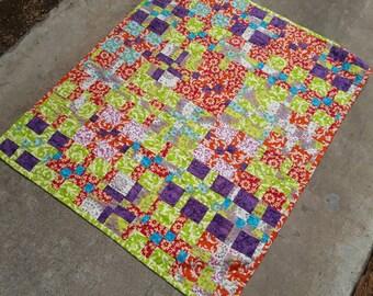 Baby Shower Gift, Baby Quilt, Newborn Blanket, Baby Boy Quilt, Blanket, Girl Quilt, Quilted Baby
