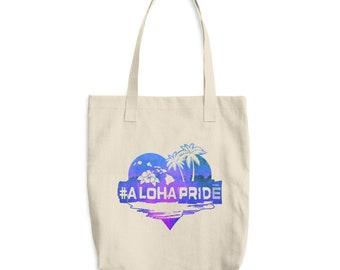 Aloha Cotton Tote Bag