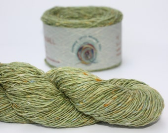 Spinning Yarns Weaving Tales - Tirchonaill 550 Green 100% Merino 4ply
