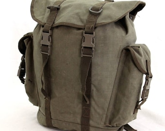Authentic German army gebirgsjager backpack rucksack ruck sack alpine mountain military jager climbing