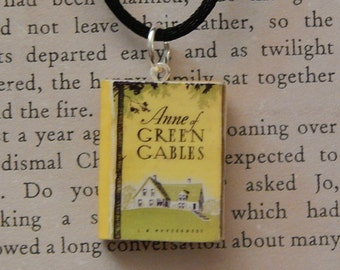Anne of Green Gables Book Necklace, Brooche, or Keychain
