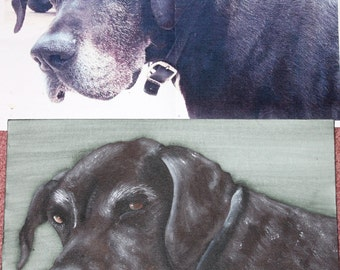 Custom Pet Painting - One Pet