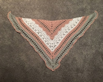 Orlando Girl Triangle Shawl