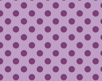 Tone on Tone Medium Dots - 1 Yard Cut - Lavender Dots -  Riley Blake Designs - Cotton Fabric - Quilting Fabric
