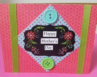 Bright and Cheerful Happy Mother's Day Card