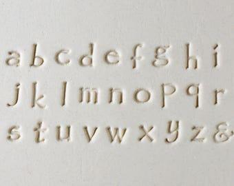 MKM Prints Charming Lower Case Font Set