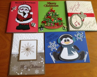 Christmas card variety set (5)