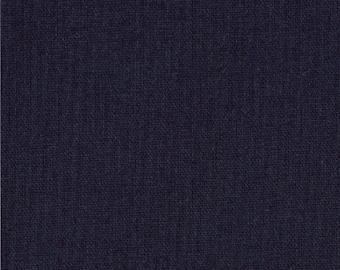 Bella Solids Navy Yardage by Moda Fabrics #9900 20 100% Cotton