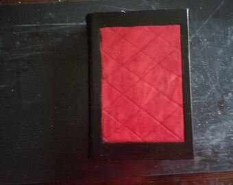 500 page leather journal.