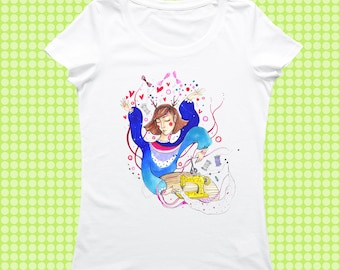 Every creative woman on Stedman tshirt/ tshirt/ crafts/art / direct print/ design/ fairy