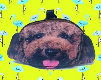 Poodle dog  coin  purse dog coin coin  purses