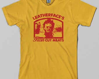 Texas Chainsaw Massacre T Shirt  - leatherface, horror, slasher, gore, movie, 70s - Graphic tee, All Sizes & Colors