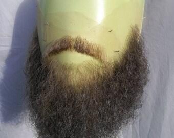 Facial hair, beard and moustache set. LI41