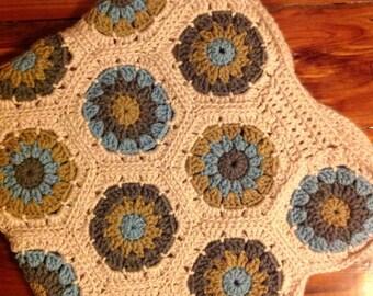 Hexagons Baby Blanket