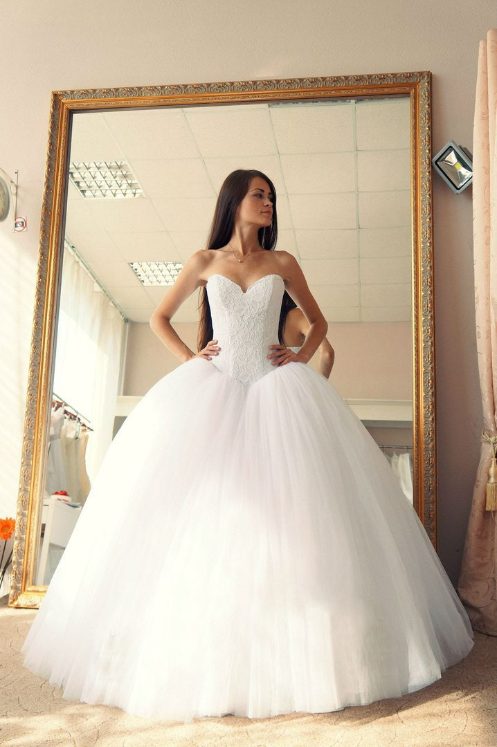 Ball gown wedding dress Vera wedding dress puffy wedding