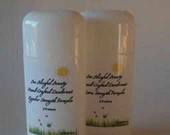 2 for 18! BEST SELLING DEODORANT, Bentonite Clay Deodorant, Organic Handmade Deodorant, Aluminum Free Deodorant, gluten free deodorant