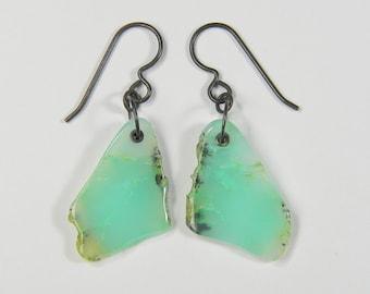Chrysoprase Earrings