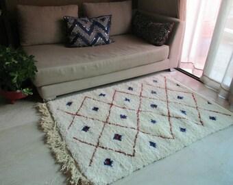 """Beni ourain rug """"Sydney"""" 30% off Moroccan Rug, soft Rug, Nursery Rug, Children Rug, bedroom rug, living room rug, kids rug morrocan rug"""