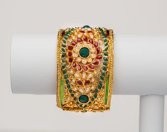 Indian Rajasthani Traditional adjustable Kada/Bangle.