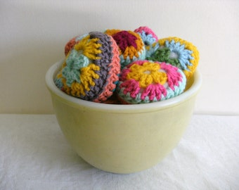 EASTER CROCHET PATTERN Crochet Egg Crochet Granny Egg Pdf file, instructions tutorial.
