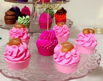 Mix & Match Mini Cupcakes Soaps | Scented Soaps