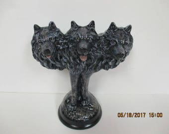 Ceramic Wolves