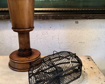 Antique Wirework Mouse Trap