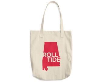 Roll Tide Tote Bag, Alabama Crimson Tide