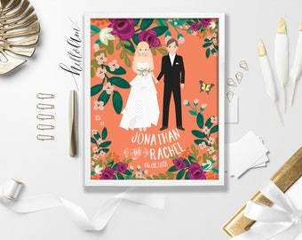 best selling items Personalized wedding gift Personalized couple gifts best sellers 2017 wedding guest book alternative personalized wedding