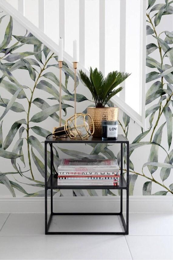 Eucalyptus Blad Verwisselbare Behang Jungle Tijdelijke Behang, Huurders  Vriendelijk Behang, Peel En Stick Muur Sticker Voor Appartementen Amazing Ideas