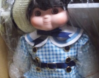 """Goebel Dolly Dingle """"Billie Bumps"""" Musical Doll """"How Much Is That Doggie In The Window"""" NIB"""