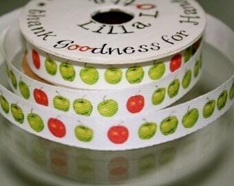 Apples Cotton Tape