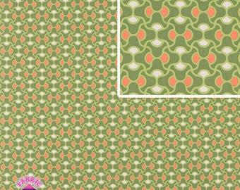 140258056 - Amy Butler August Fields Knot Garden By the Yard Moss