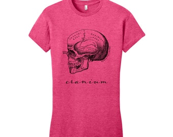 College Graduation Gift Skull Shirt Vintage Anatomy T-Shirt Anatomy Shirt Science Shirt Biology Shirt Graduation Medical School Gift Science