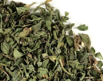 Dried Peppermint Leaf, Mentha piperita, Menthol Mint Tea, Herbal Remedies Tea, Dried Herb, Organic Mint Tea, Beesbotanics Peppermint