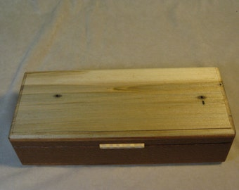 Ambrosia Maple and Lacewood Jewelry Box - LB 74