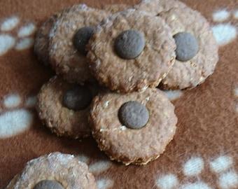 9 Peanut and Chocolate K9 dodgers - Dog treats.