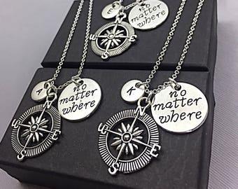 SALE,3 Best Friend Necklaces, Custom Best Friend Necklaces, 3 Best Friend Gift, Customized Friendship Jewelry, Best Friend Necklace,BFF