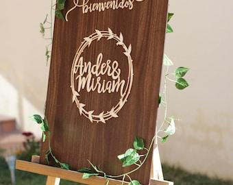 Welcome Wedding Signal