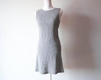 Vintage Express Gingham Dress / 1990s Dress / 1990s Clothing / Express Dress / 90s Clothing / 90s Dress / Clueless Dress / Gingham Dress