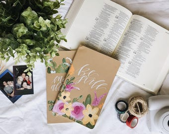 Hand Painted Prayer Journal: Grace Theme