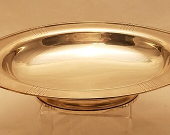French Silver Centerpiece Art Deco