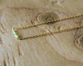 Gorgeous dainty genuine *PERIDOT* Necklace