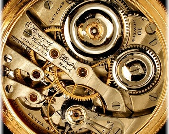 Moon Glory Gears Mechanical Pocket Watch Repair/Replace Base